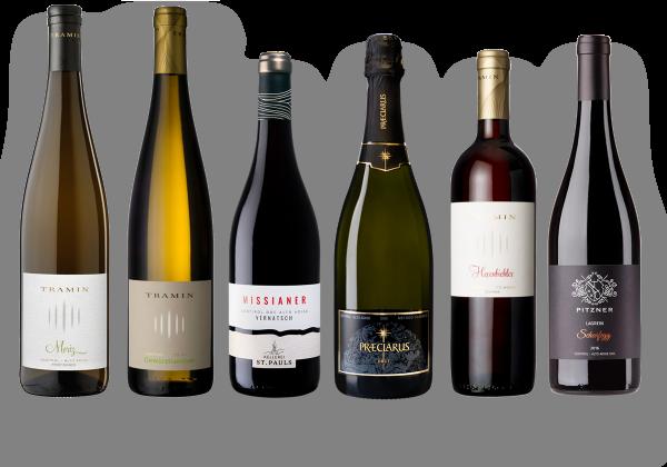 Weinprobierpaket Südtirol entdecken
