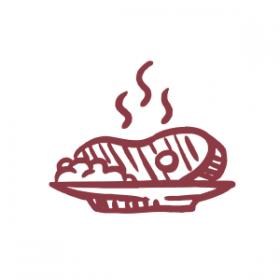 dunkles Fleisch / Gegrilltes