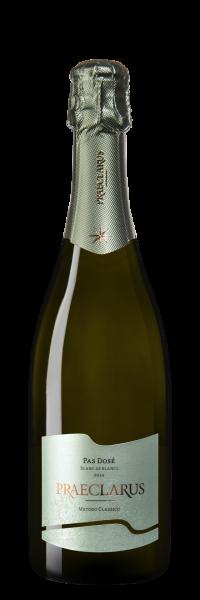 Sekt PRAECLARUS Pas dosé Blanc de Blanc Extra Brut Südtirol DOC 2014